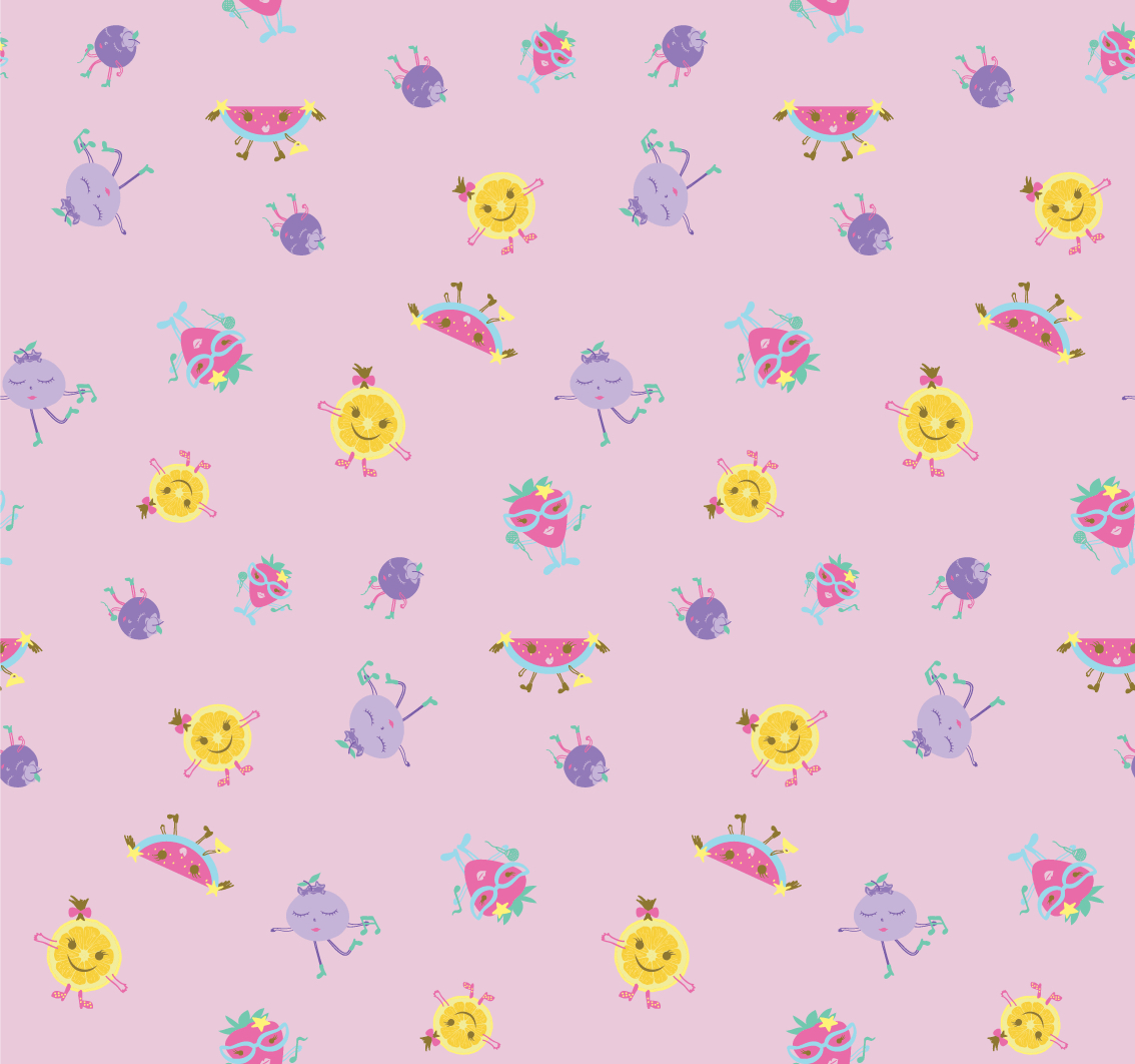 ProductDesign_Pattern_Fruits_Dancing