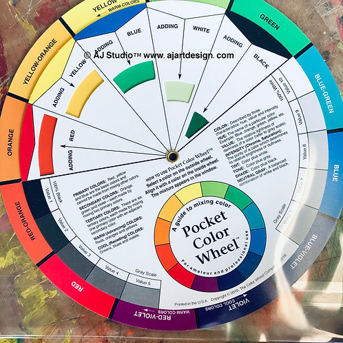 Pocket Mixing Guide Colour Wheel