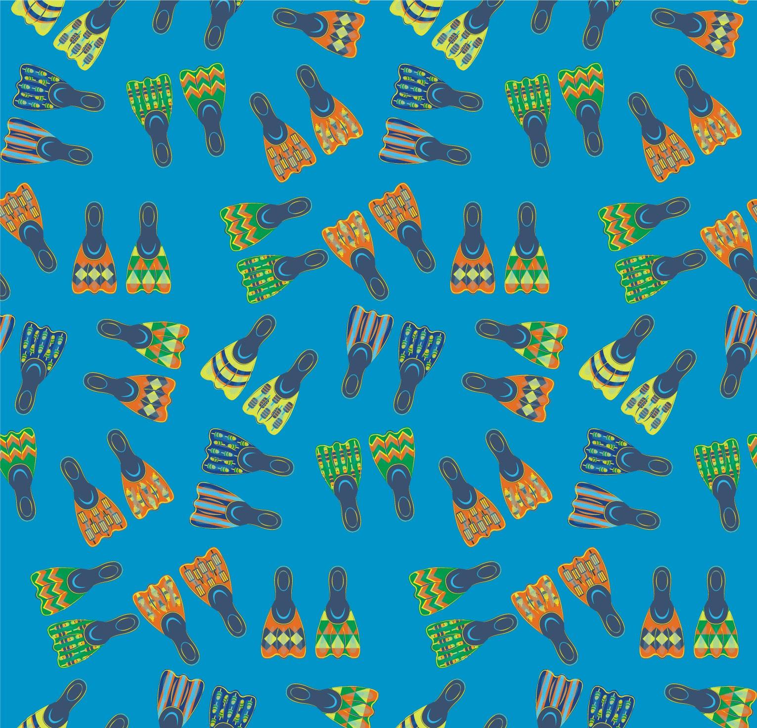 ProductDesign_Pattern_Summer_Flippers