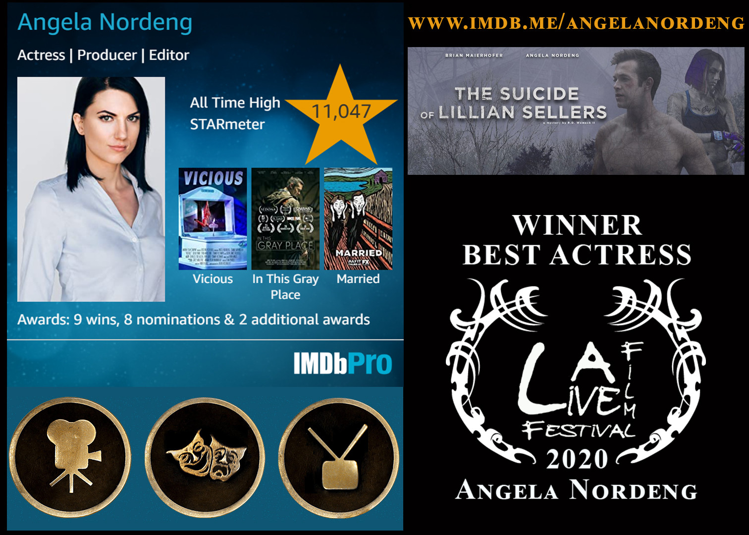 Angela Nordeng best actress