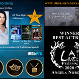 Angela Nordeng Winner Best Actress