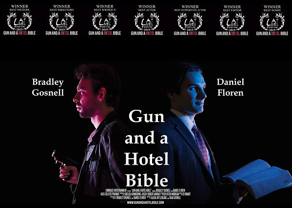GUN AND A HOTEL BIBLE