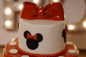 Minnie Maus Torte 1
