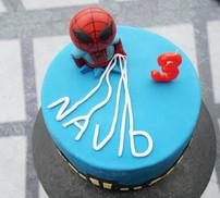 Spiderman Fondant Torte
