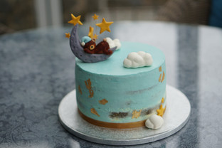 Baby Shower Blaubeer Torte
