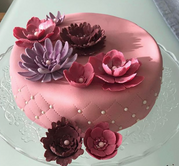 Pink Chesterfield Cake for Her