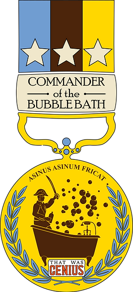 Funny History Podcast - Commander of the Bubble Bath
