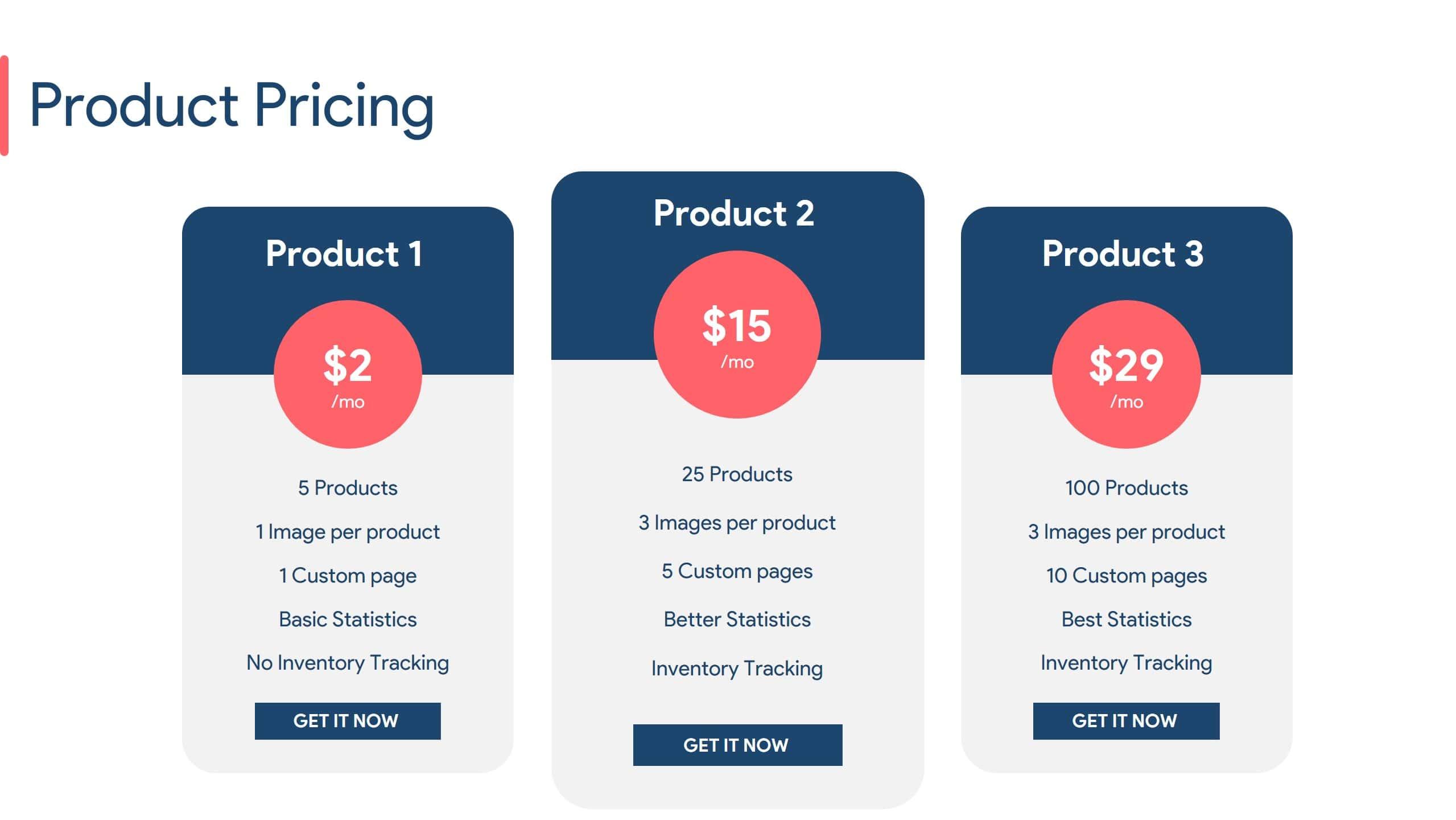 Product launch Slide Deck