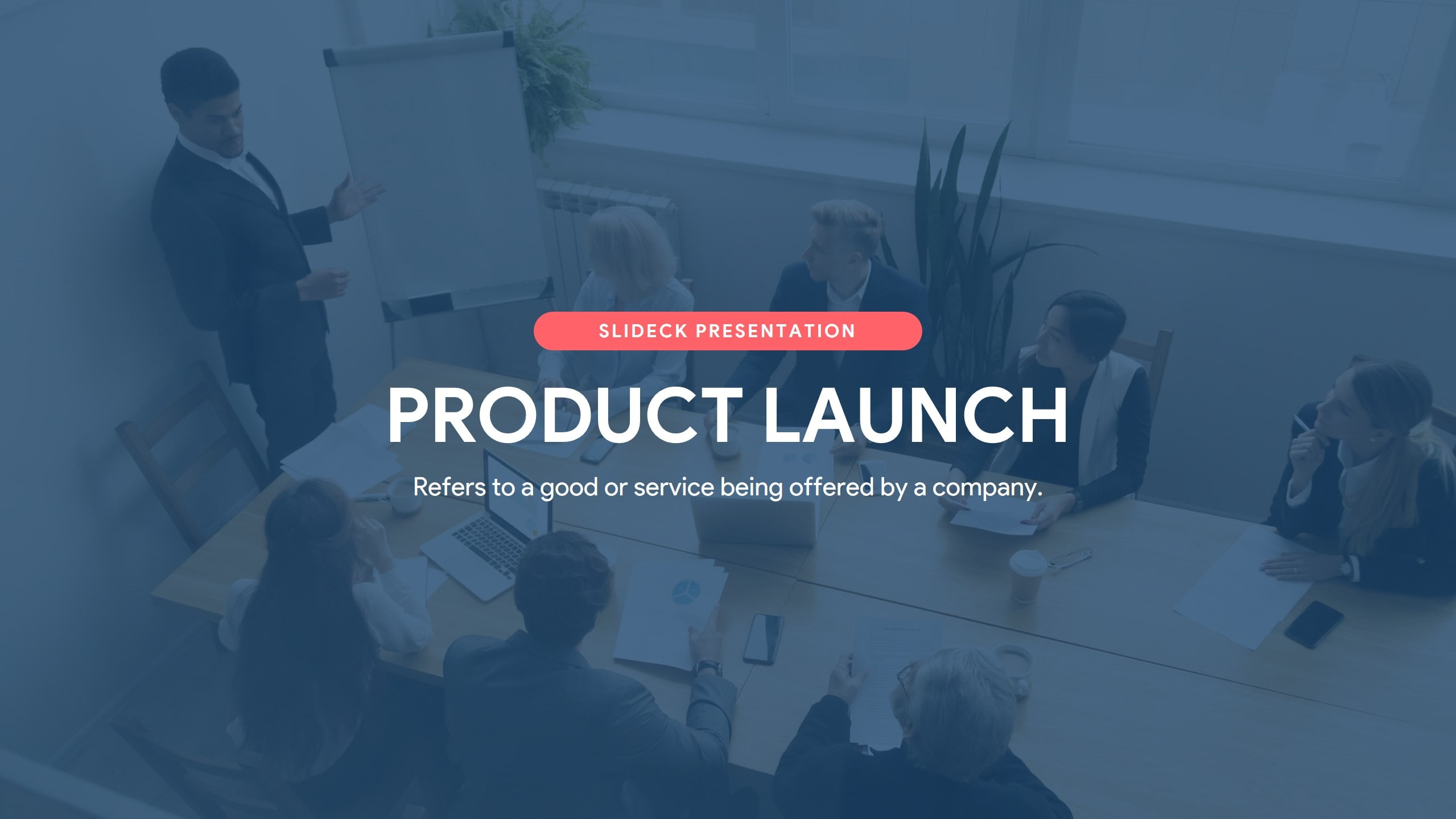 Product launch Slide Deck