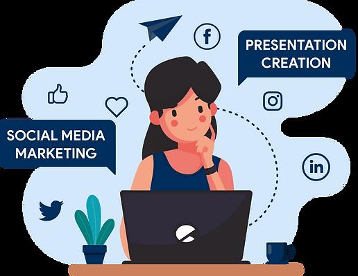 Social Media Marketing and Presentation Design Agency