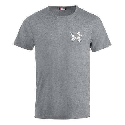 "T-Shirt ""John"" | Grijs-Wit"