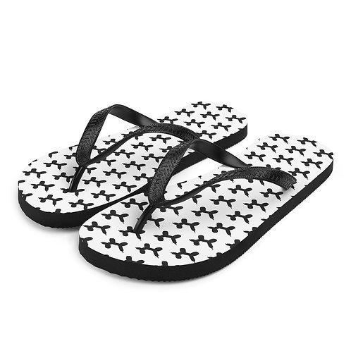 TeenSlippers | Zwart-Wit