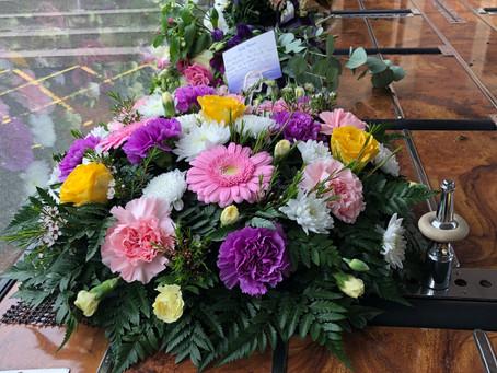 Circular Floral Arrangement.
