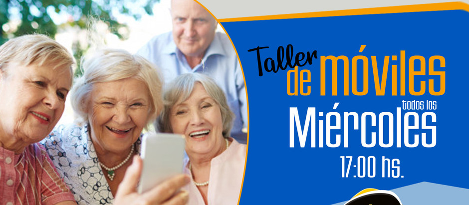 "¡¡Aprende a manejar tu ""smartphone""!! Talleres gratuitos para mayores de 60"