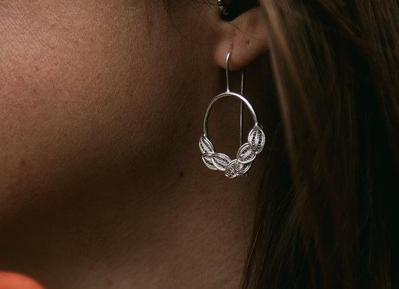 Boucles d'oreilles Succulente