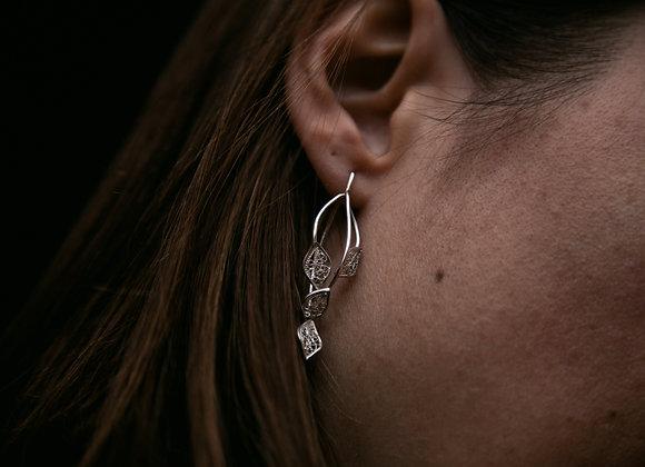 Boucles d'oreilles Astrale