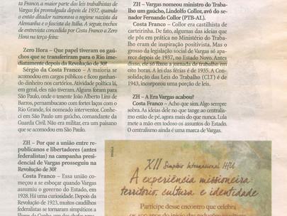 """Centralismo ainda é marca de Vargas"""
