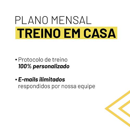 PLANO MENSAL - TREINO EM CASA