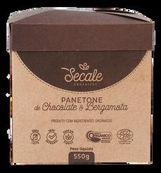 Panetone Chocolate e Bergamota - Secale