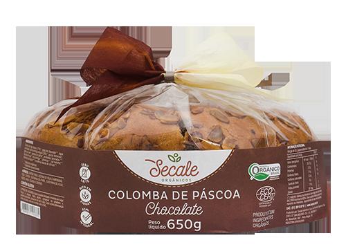 Colomba de Páscoa Chocolate - Secale