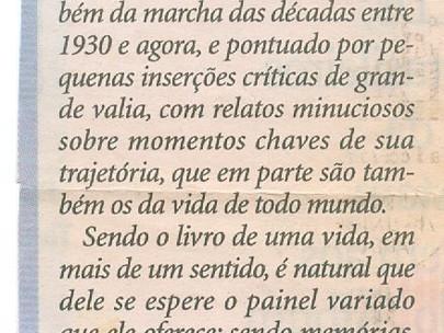 Memórias de fatos - Luís Augusto Fischer