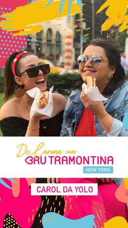 De Carona com Bru Tramontina NY