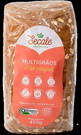 Pão Integral Multigrãos - Secale