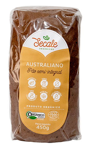 Pão Semi Integral Australiano - Secale