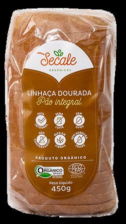 Pão Integral Linhaça Dourada - Secale