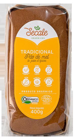 Pão de Mel Tradicional - Secale