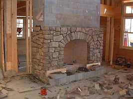 Masonry-Base Fireplace