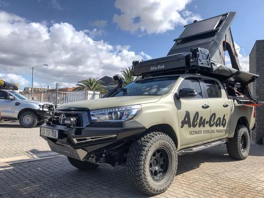 Bracket extension on vehicle
