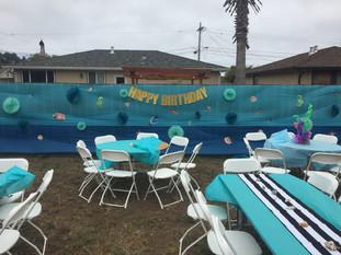 Under the Sea birthday in Pacifica