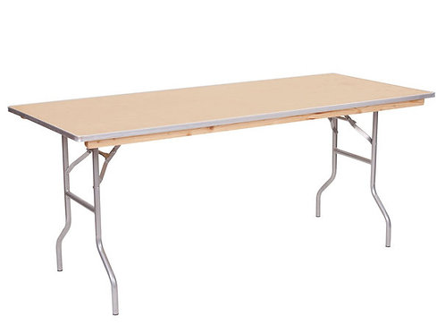 Rectangle 6' Table