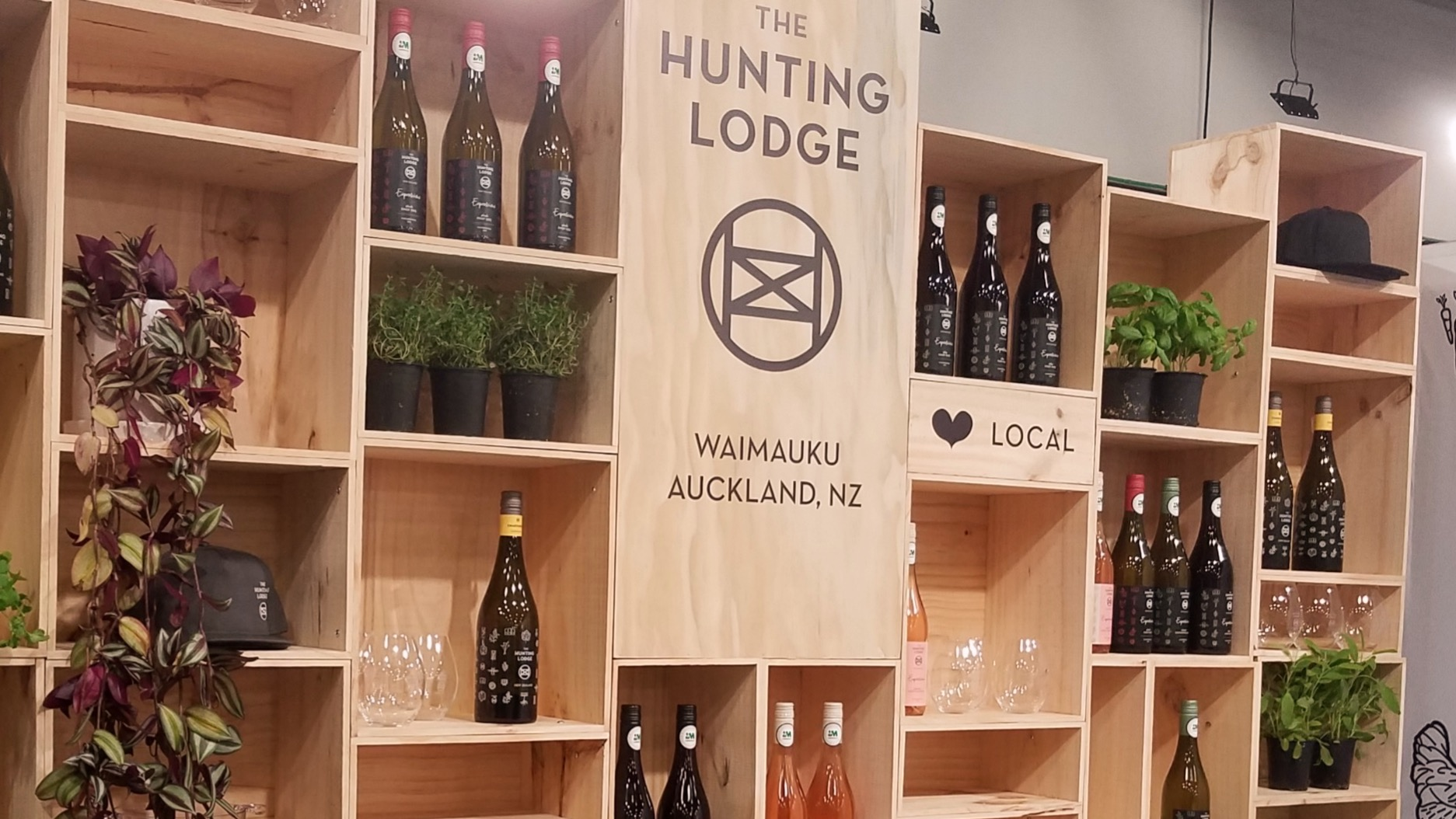 THE HUNTING LODGE  FOOD SHOW 2019