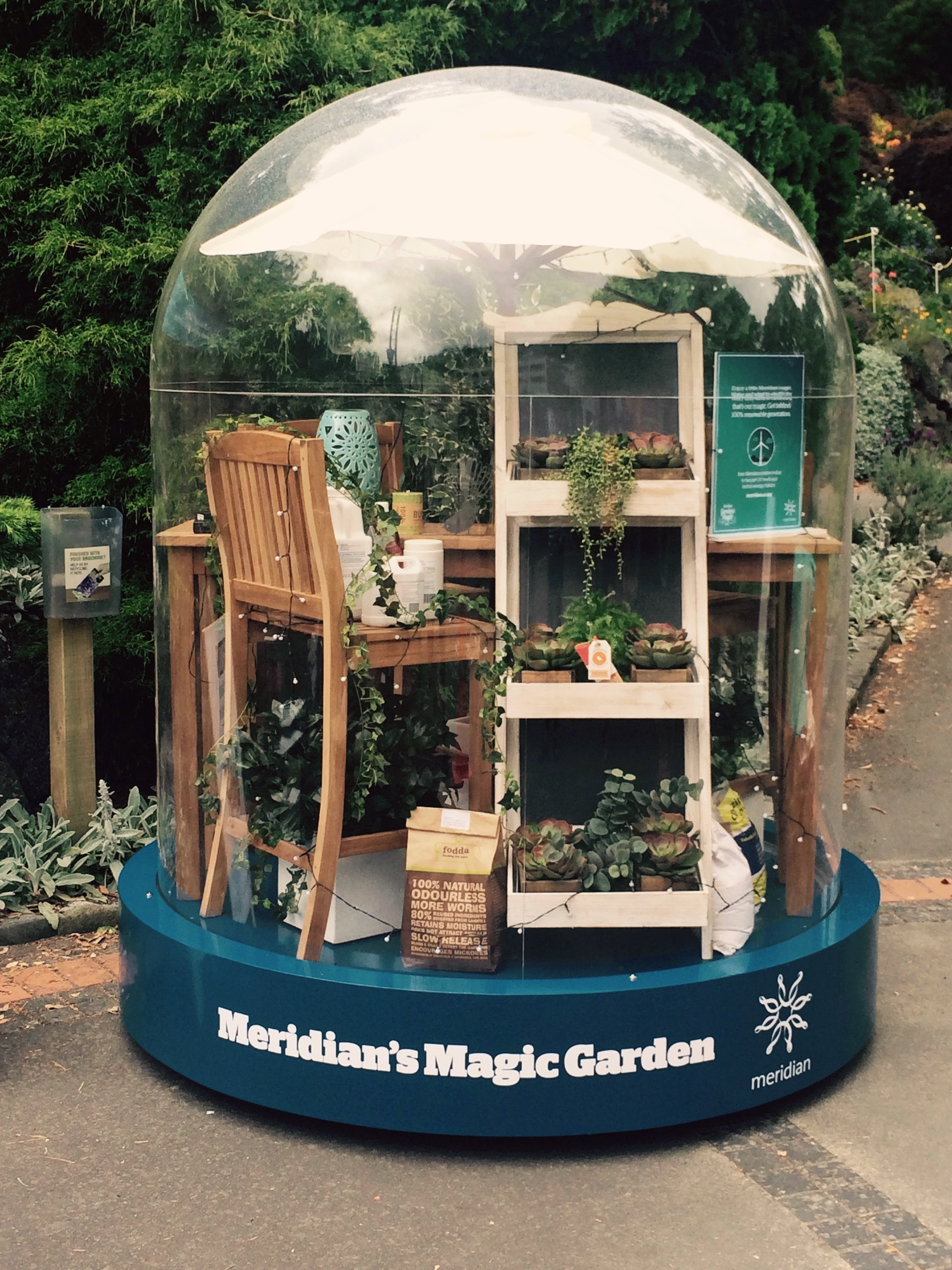 MERIDIAN'S MAGIC GARDEN