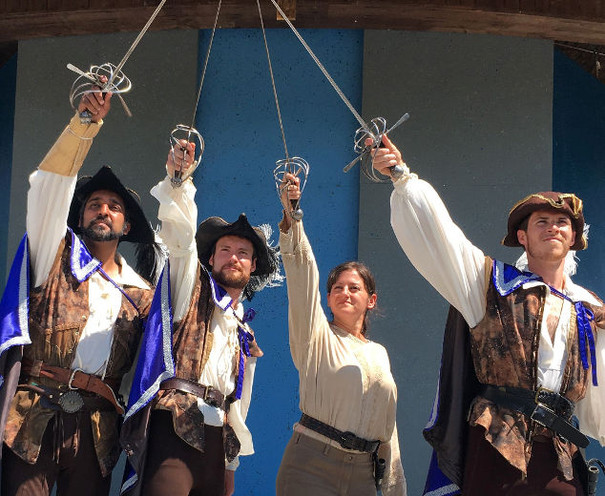 The Three Musketeers 2017