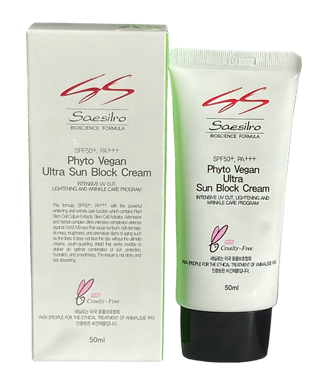 Ultra Sunblock Cream (50 ml) (Saesilro = RebornCell)