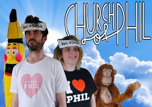Church of phil new poster higher chimp.j