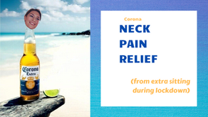 how to deal with corona neck pain