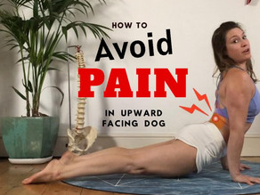 5 Ways to Relieve Lower Back Pain in Upward Facing Dog
