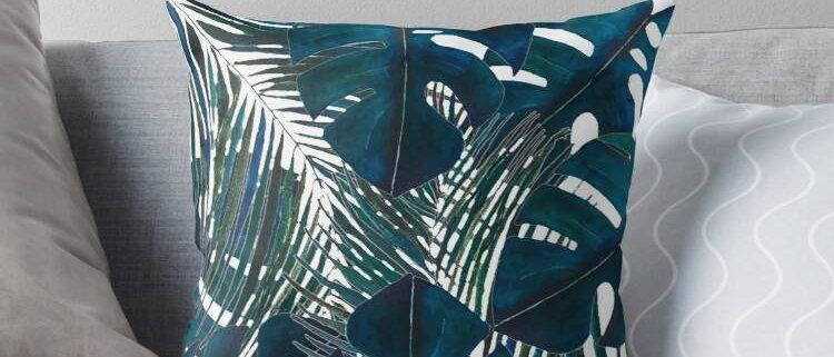 Watercolour Cushion