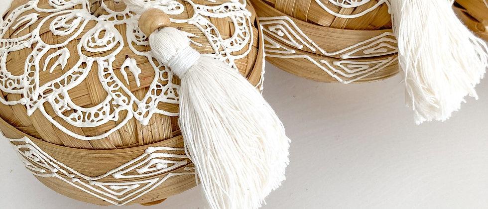 Henna Bamboo Box