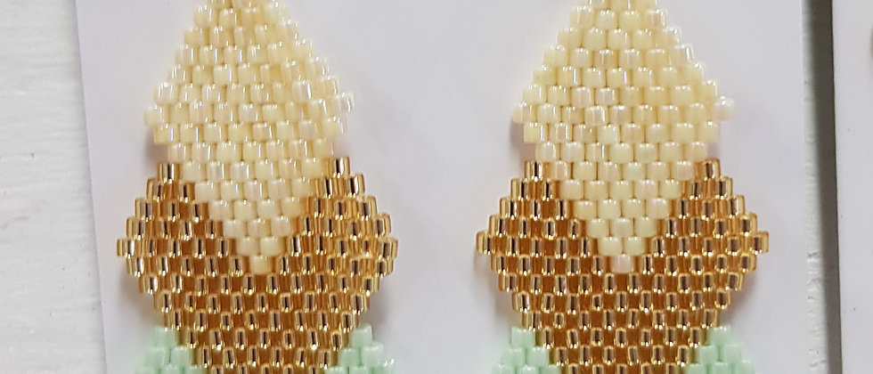 Petit Jewelry, earrings - 3 tier