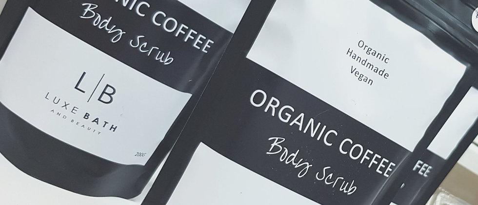 Luxe Organic Coffee Scrub