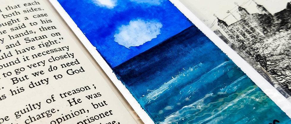 Original Watercolour Bookmark