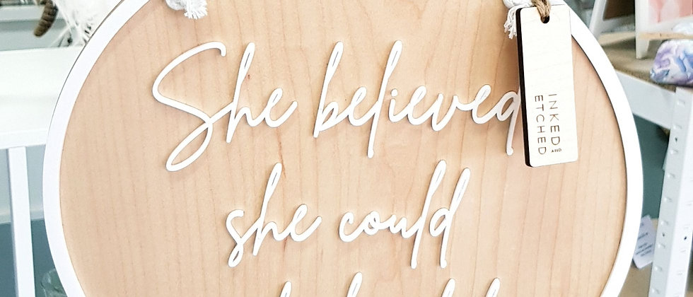 Inked+etched- Wall Quote