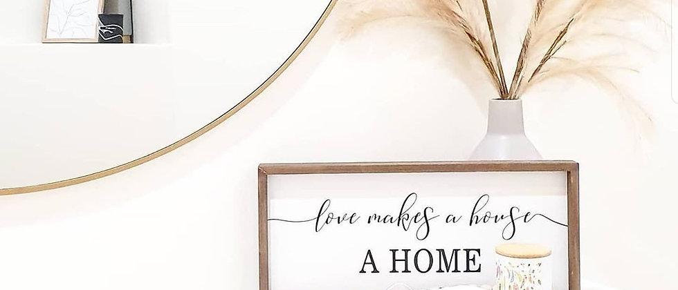 Love quote decor