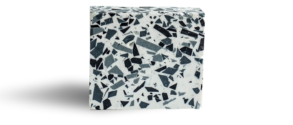 Terrazzo Soap- grey