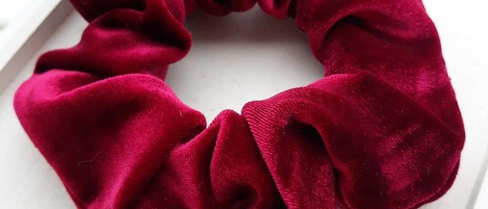 Sienna's Scrunchies - Ruby Velvet